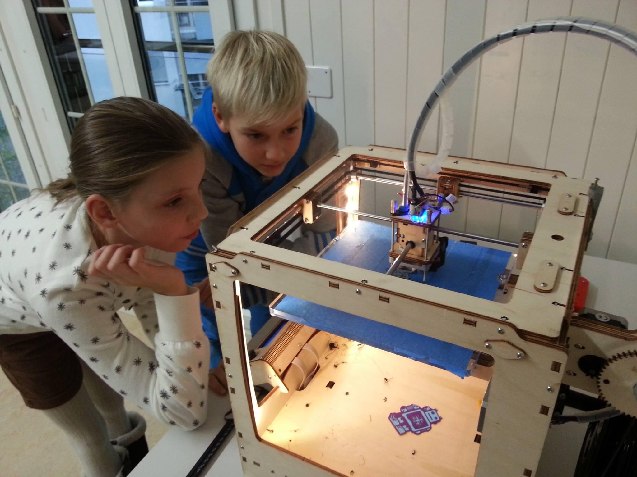 Impression 3D chez les jeunes