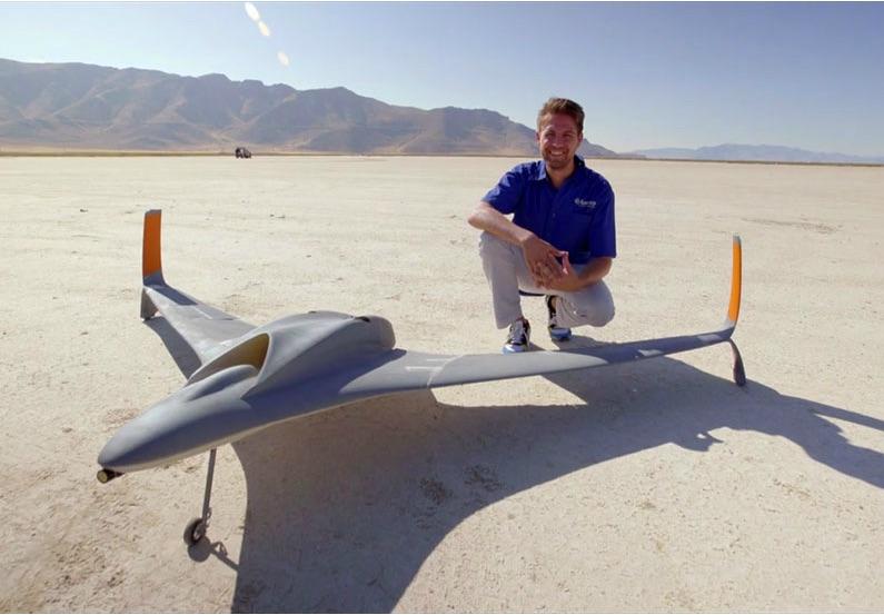 UAV imprimé en 3d